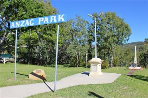 ANZAC Park Mount Morgan