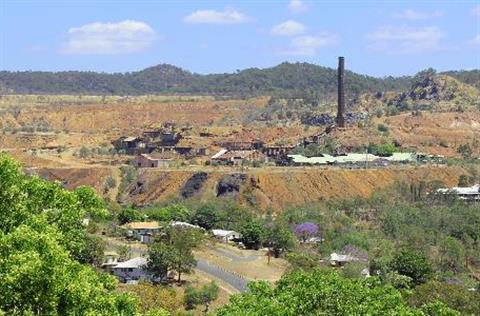 Overlooking Mount Morgan Mine