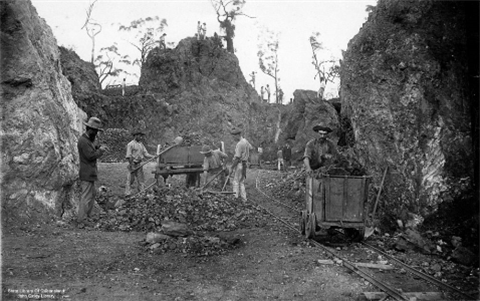 Mount Morgan Gold Mine 1888