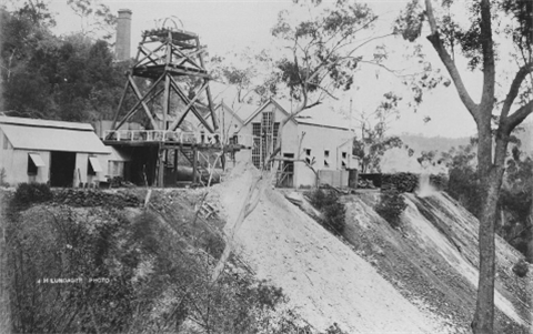 Mount Morgan Sugarloaf Shaft Mine 1895