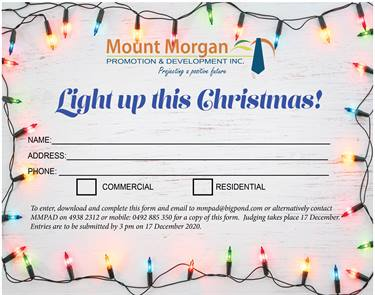 Christmas Lights Nomination Form
