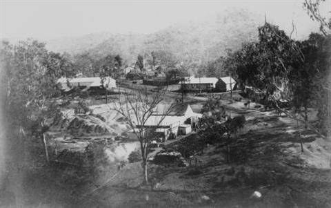 Early Days of Mount Morgan 1883